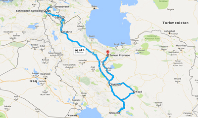 Armenia & Iran Tour