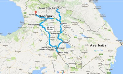 Georgia & Armenia Tour (Kutaisi)