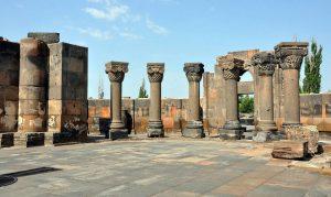 Zvartnots Pillars