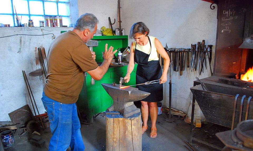 Gyumri Blacksmith Master Class