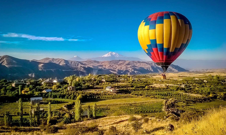 Hot Air Balloon Riding