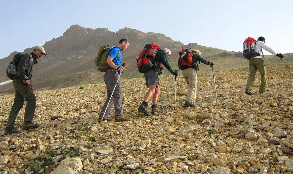 Trekking To Mount Azhdahak