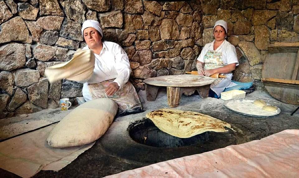 Garni Lavash Making