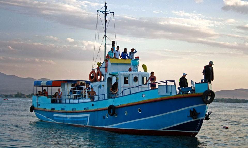 Sevan Boat Ride