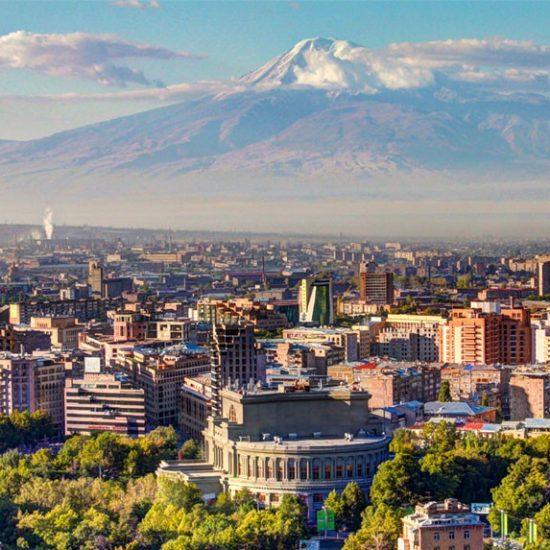 Yerevan & Mt. Ararat