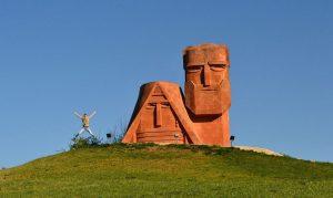 """Монумент """"Мы - наши горы"""""""
