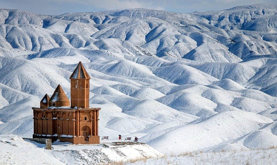 Armenian Catholic Church of Saint John (Surb Hovhannes) in Sohrol, Iran.