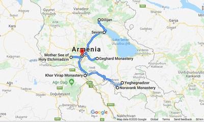 Сборный тур в Армению