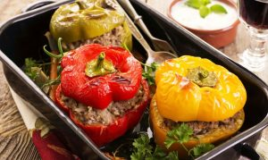Bell Peppers Dolma