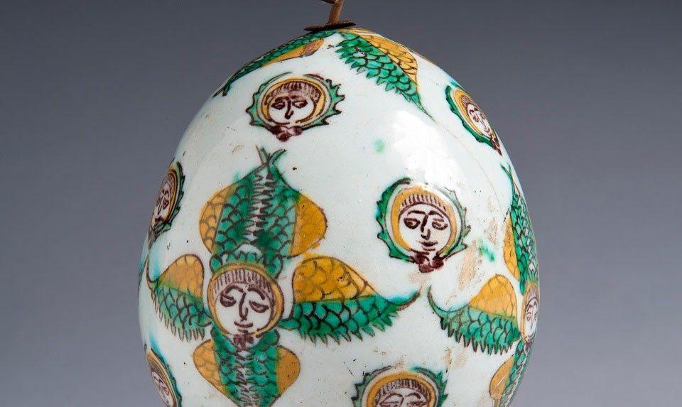 Kерамические яйца из Кютахьи
