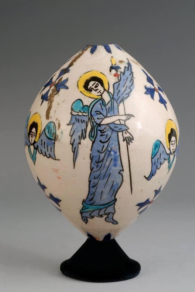 Ceramic eggs from Kutahya